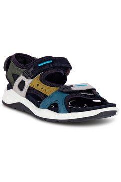 ecco sandalen in meerkleurige look multicolor