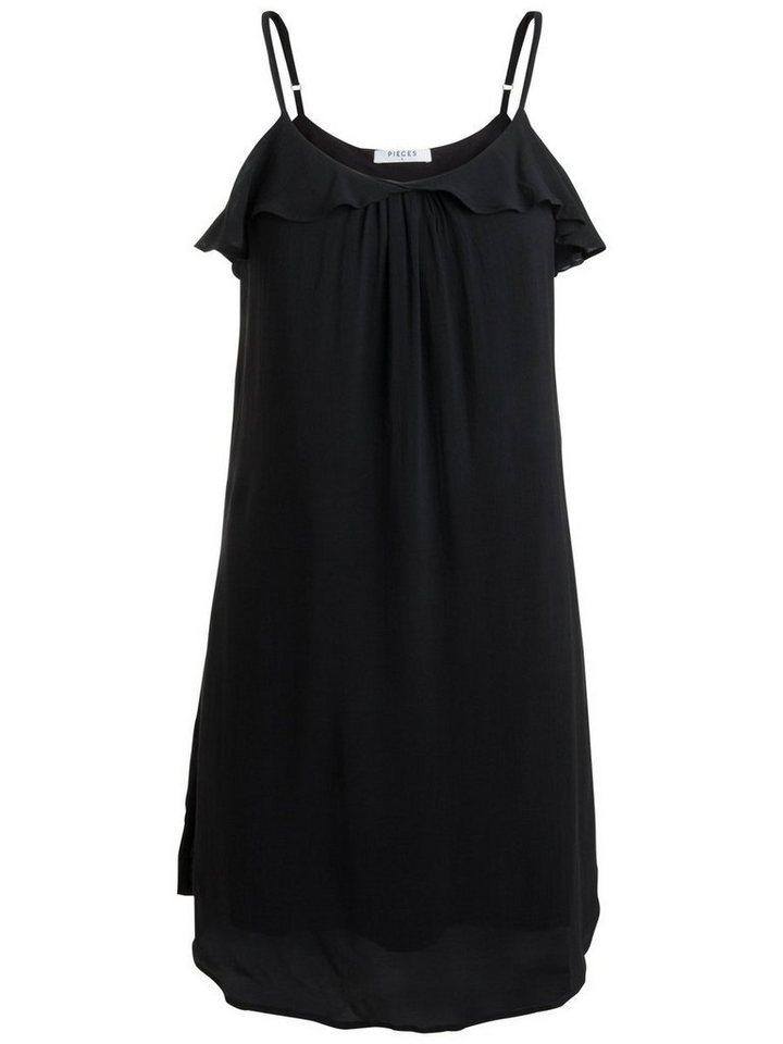 Pieces Klassieke jurk zwart