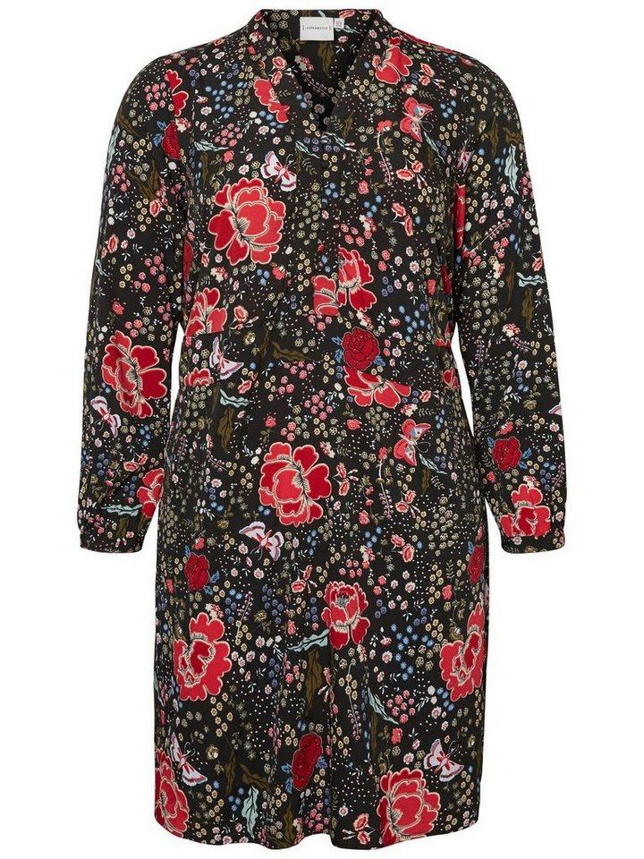 Junarose Bloemen jurk multicolor