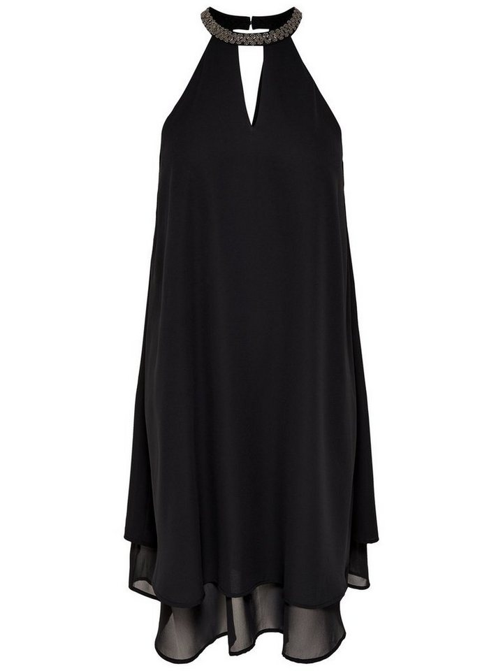 ONLY Halterneck Korte jurk zwart