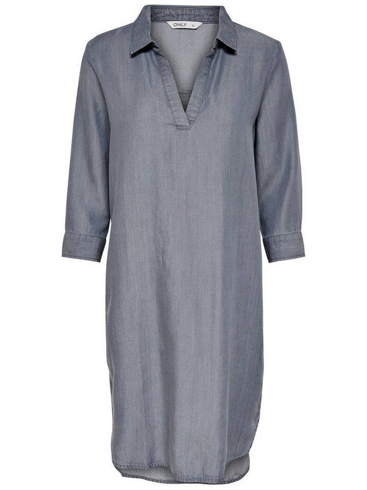 ONLY Loose fit jurk grijs
