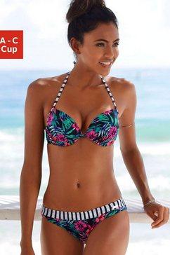 venice beach push-uptop »summer« blauw