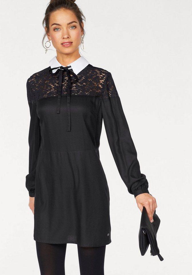 AJC geweven jurk zwart