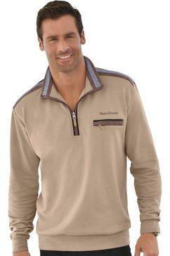 marco donati sweatshirt van puur katoen bruin