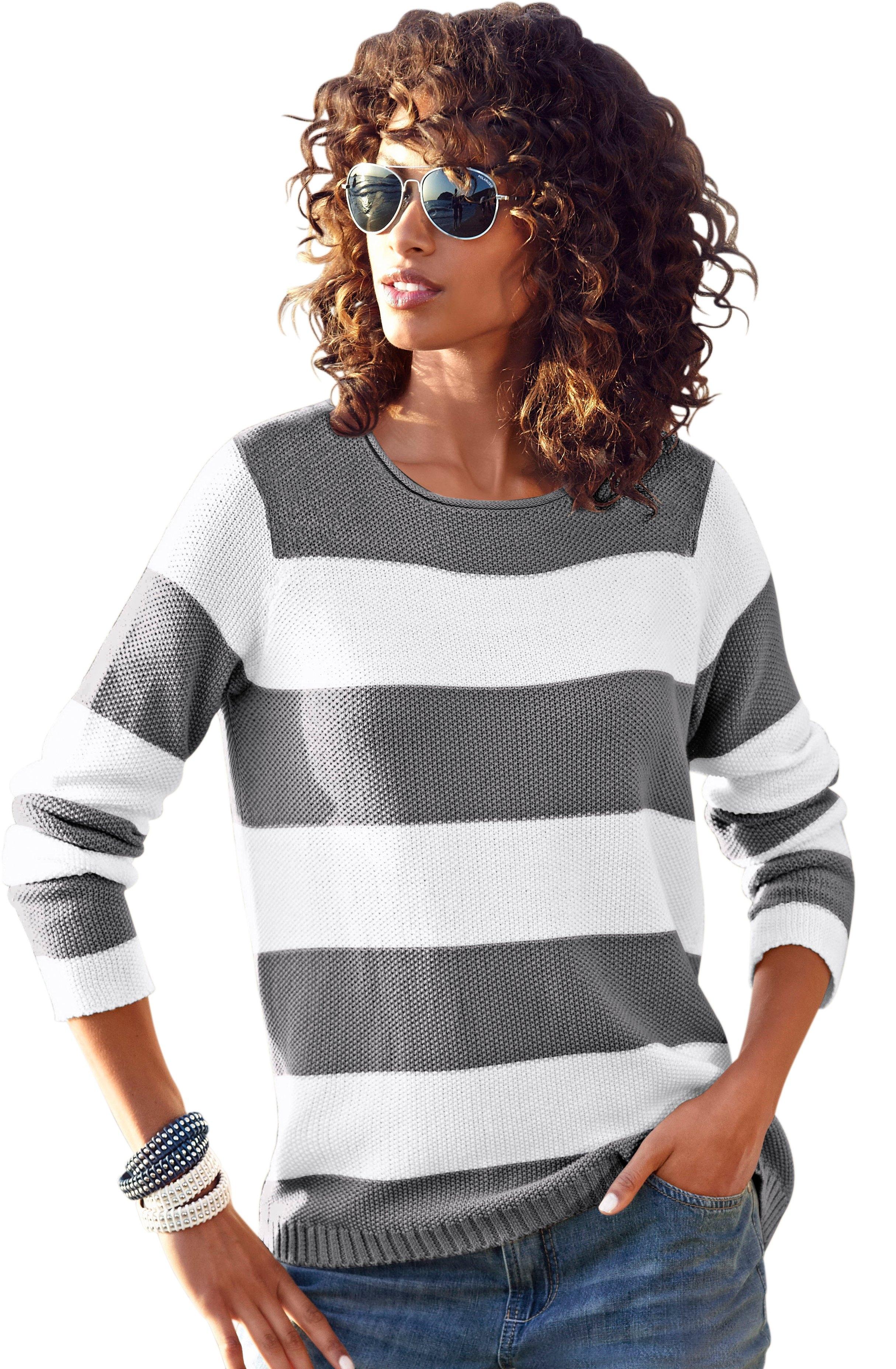 Ambria trui met brede strepen goedkoop op otto.nl kopen