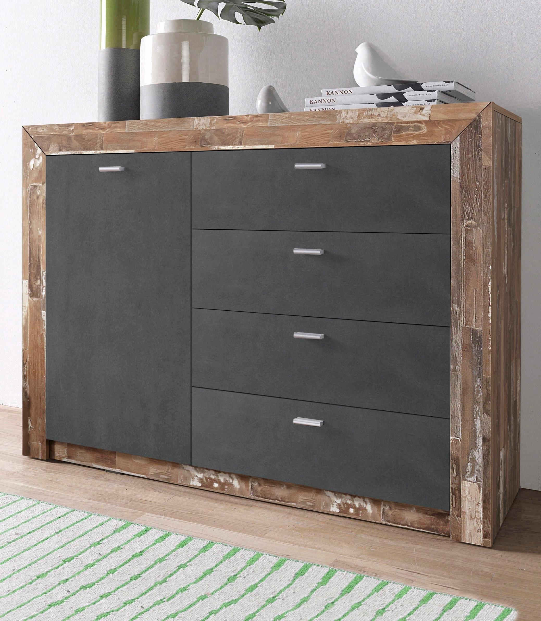 sideboard 120 cm breed online bij otto. Black Bedroom Furniture Sets. Home Design Ideas