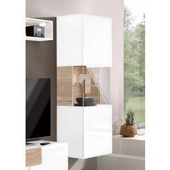 trendmanufaktur vitrinekast toledo hoogte 159 cm wit
