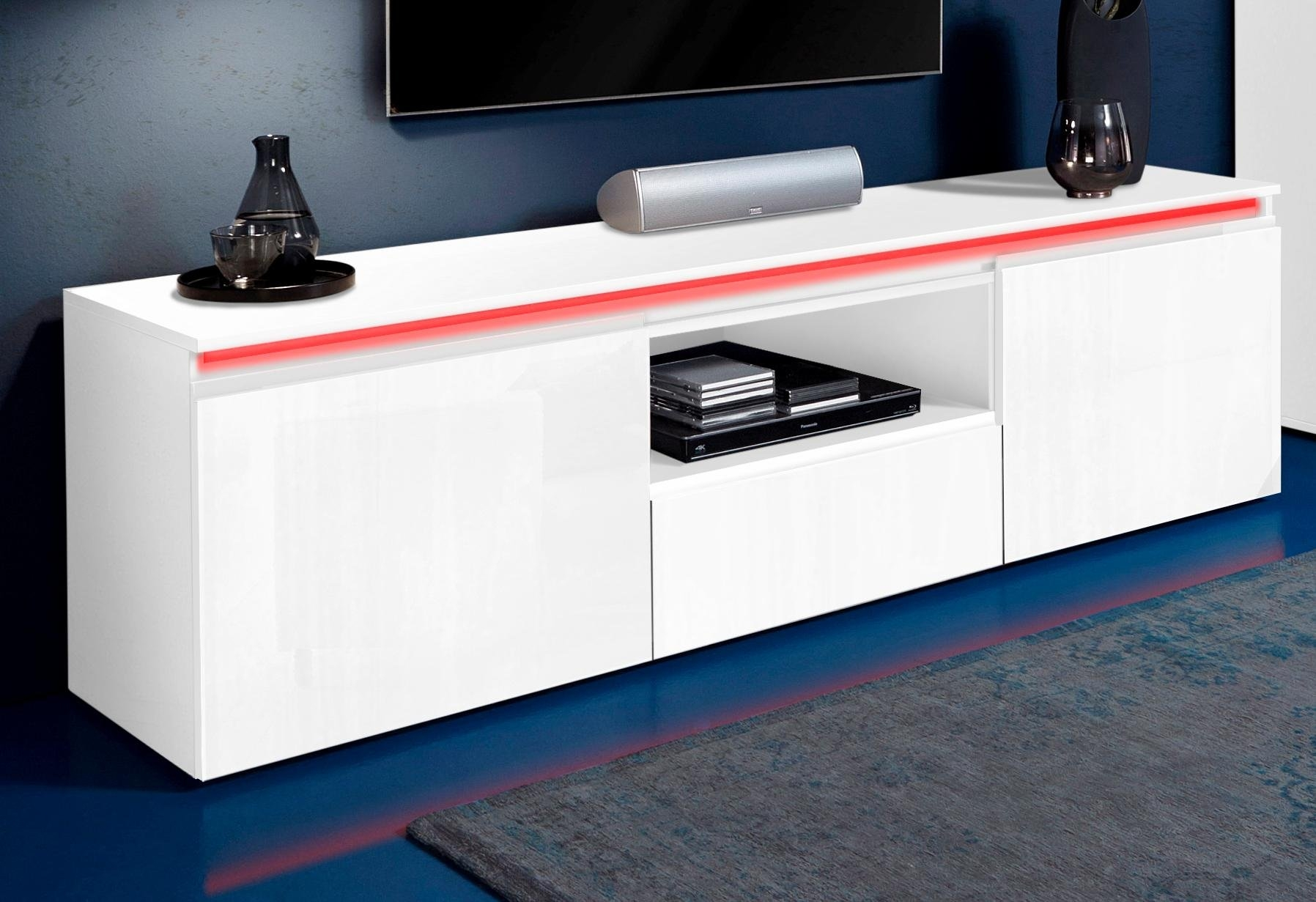 Tecnos tv-meubel Magic Breedte 180 cm, zonder verlichting goedkoop op otto.nl kopen
