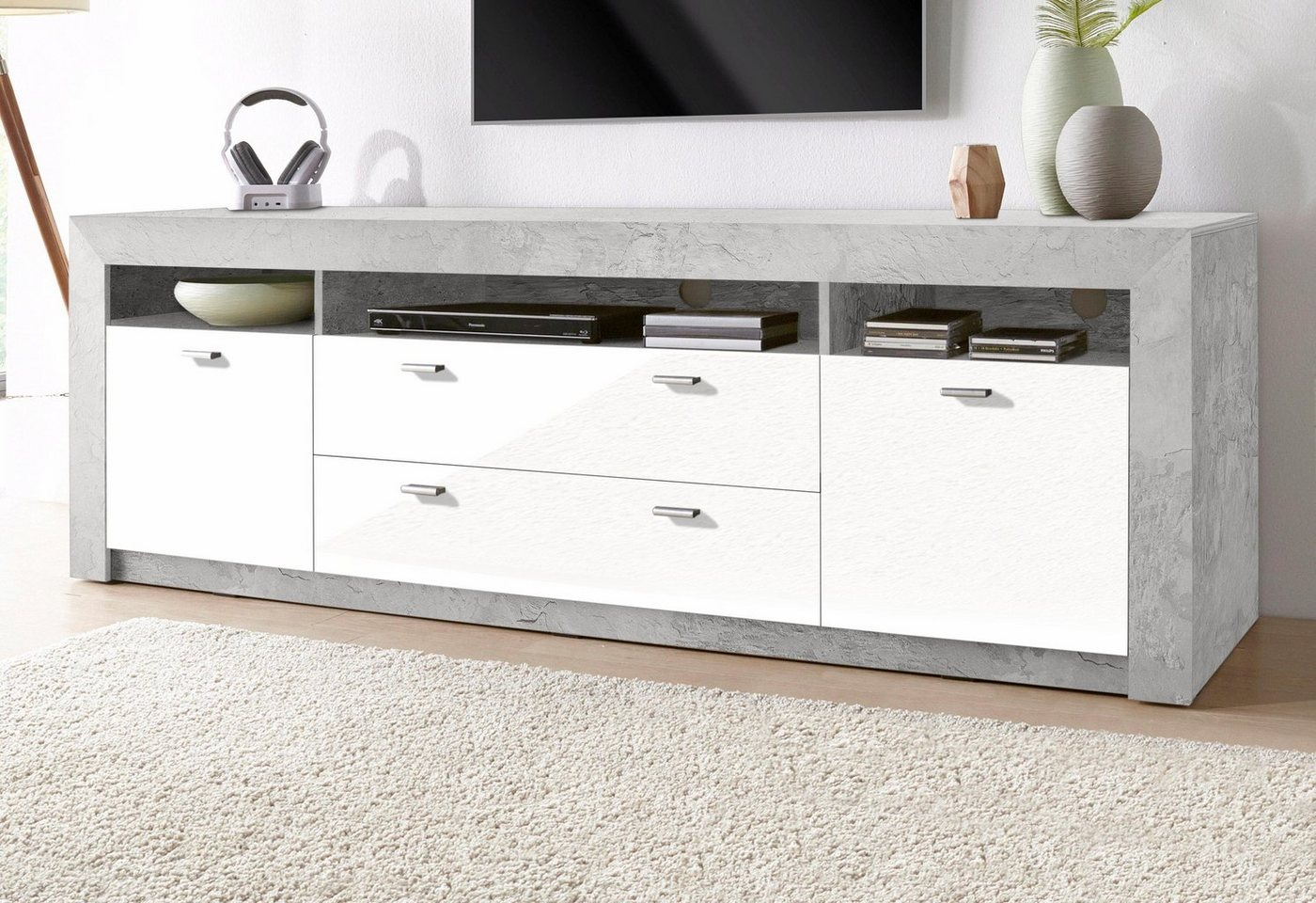 TV-meubel, breedte 188, 5 cm
