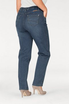 kjbrand straight jeans babsie: prettige bovenbeenwijdte super stretch blauw