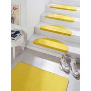 hanse home tredemat fancy grote keus in kleuren, 15 stuks in een set geel
