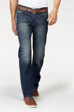 Stretch-jeans in used-wassing