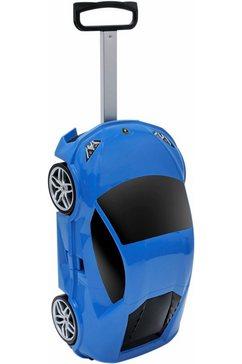packenger harde trolley voor kinderen met 2 rollers, »lamborghini huracan« blauw