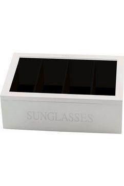 home affaire sieradendoosje »sonnenbrillen« wit