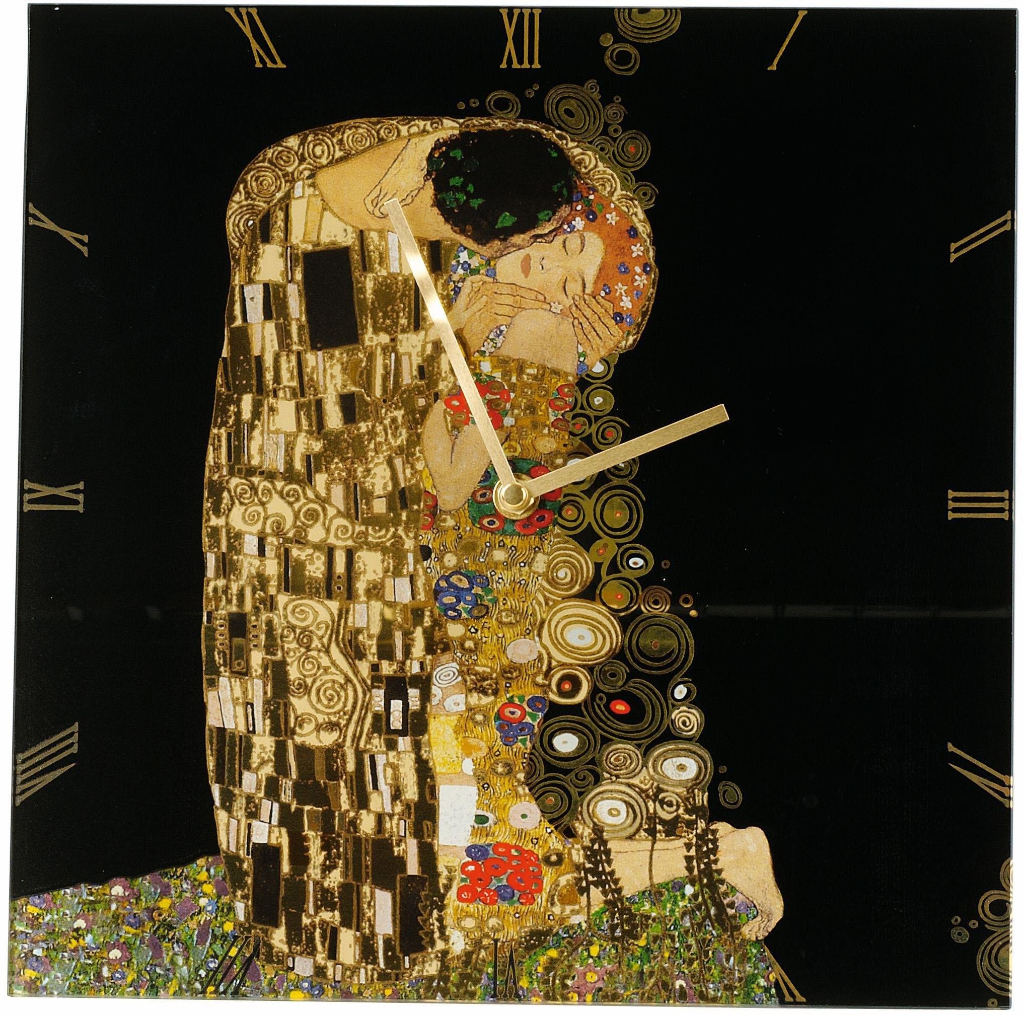 Goebel wandklok, »Artis Orbis, de kus, 66886813« goedkoop op otto.nl kopen