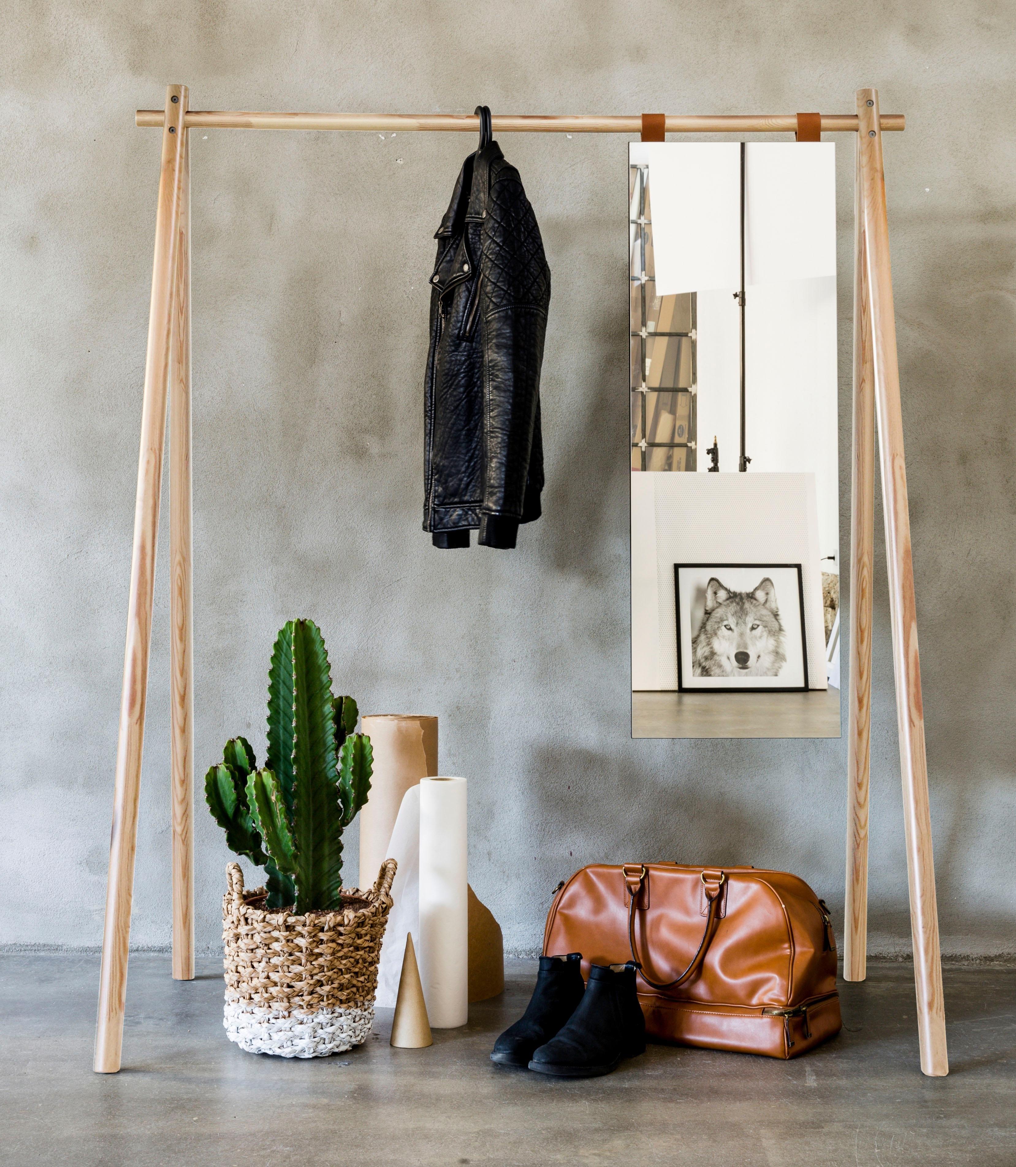 Karup Design Karup staande kapstok »Hongi« met spiegel veilig op otto.nl kopen