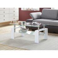 paroli salontafel met plank wit