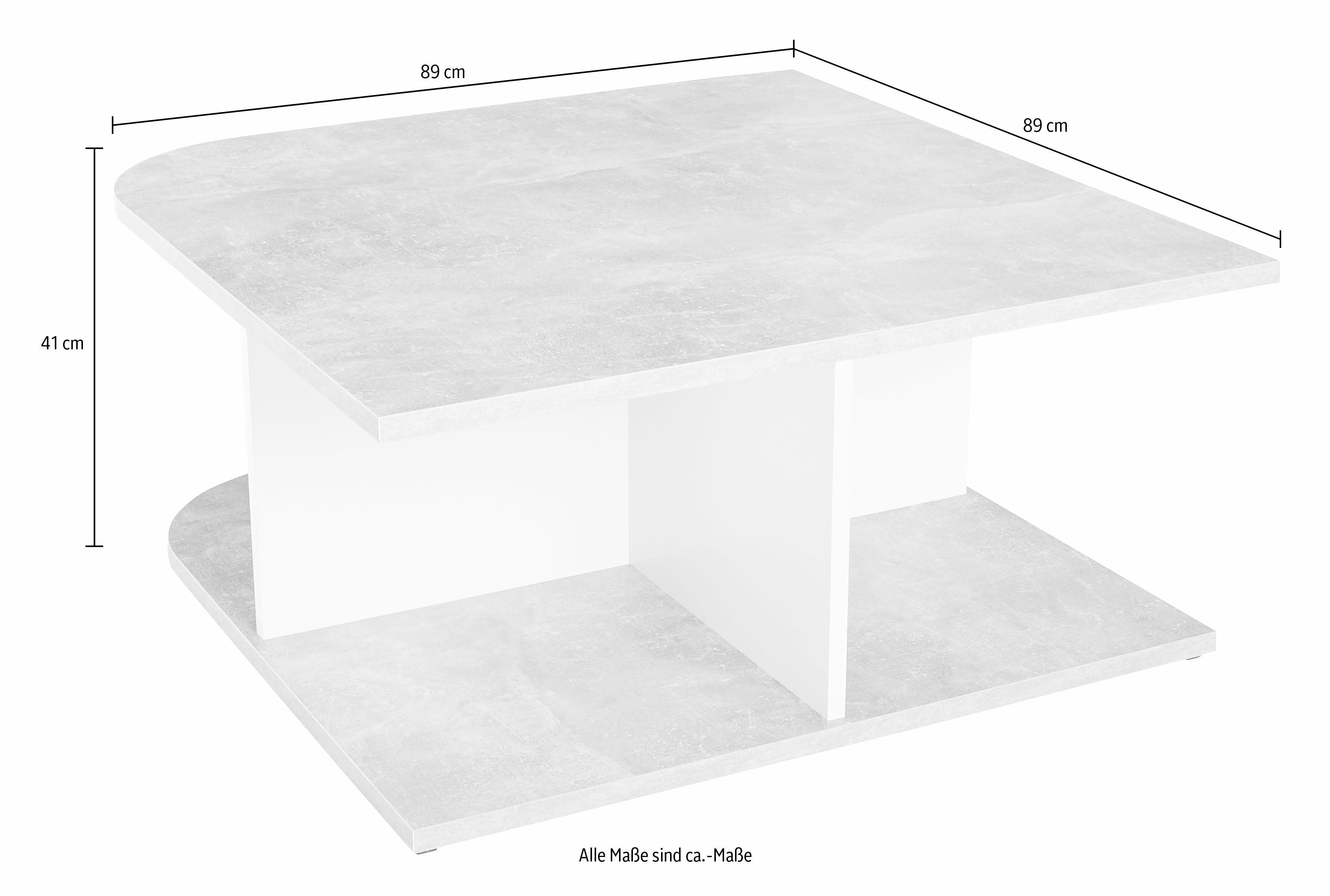 Witte Salontafel Vierkant.Salontafel Vierkant