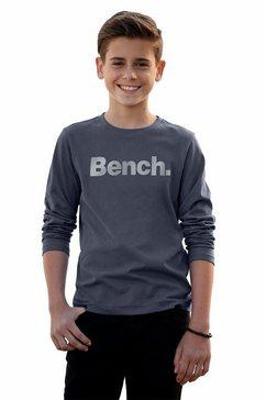 bench. shirt met lange mouwen blauw