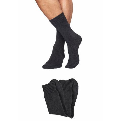 Sympatico NU 15% KORTING: Sympatico volpluchen sokken (2 paar) met comfortabele boord