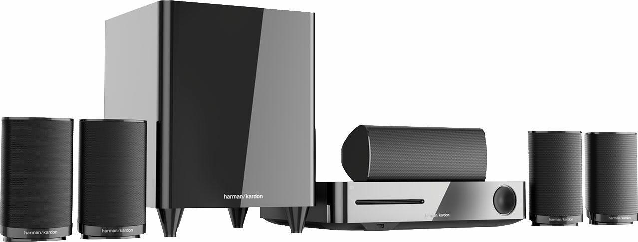 Harman/kardon BDS 635 5.1-thuisbioscoop (3D-blu-ray-speler, 350 W, WLAN, Bluetooth) bij OTTO online kopen