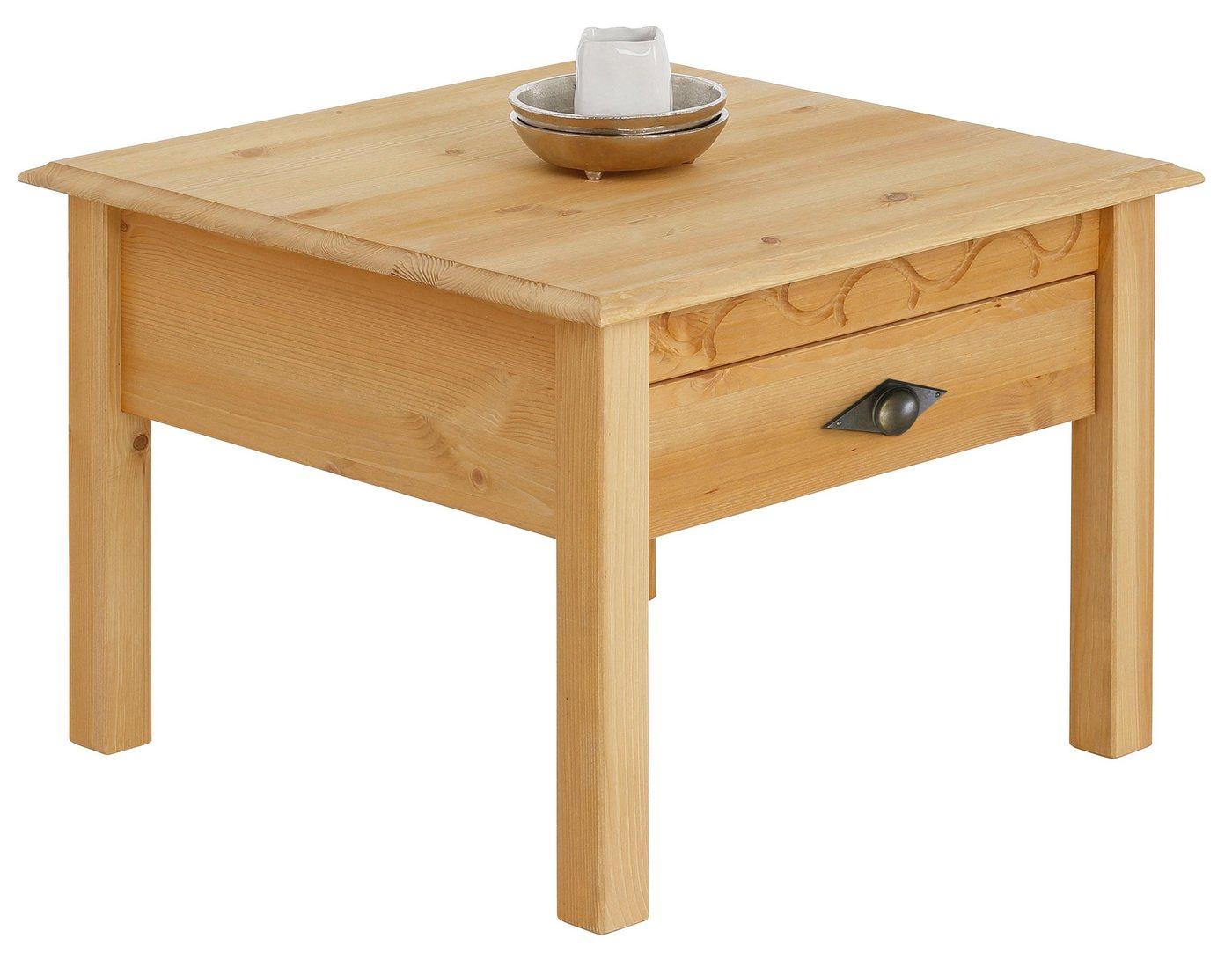 Home affaire salontafel 'Laura', 60x60 cm, met een lade