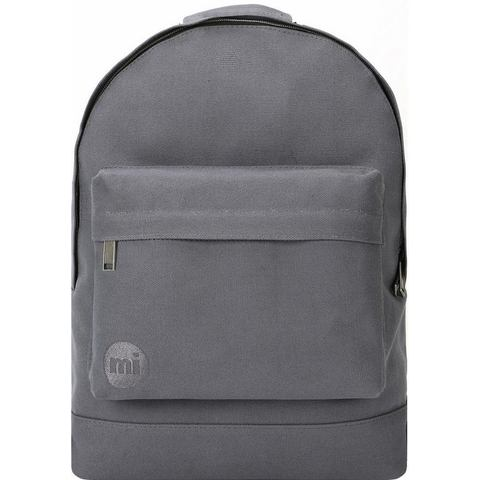 mi pac. rugzak met laptopvak, Premium canvas, charcoal
