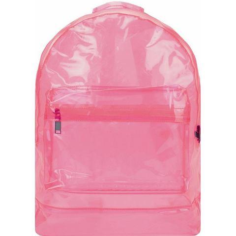 mi pac. rugzak met laptopvak, Transparant, pink
