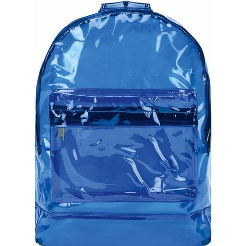 mi pac. rugzak met laptopvak, Transparant, blue