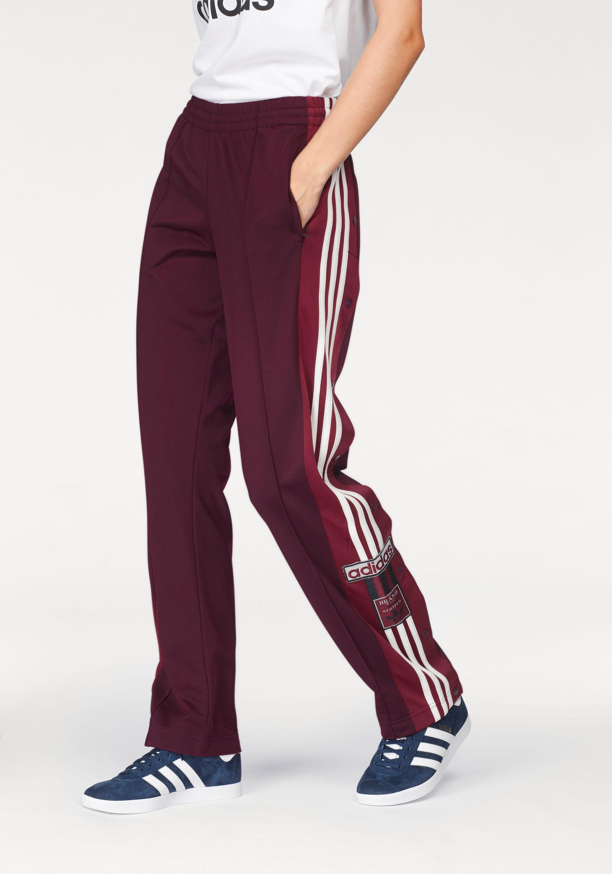 adidas originals dames broek rood