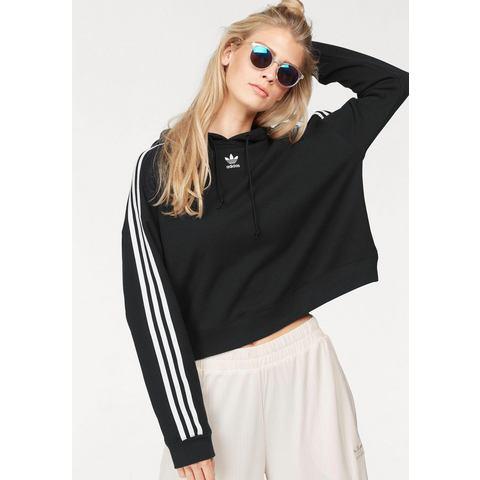 NU 21% KORTING: adidas Originals capuchonsweatshirt CROPPED HOODIE