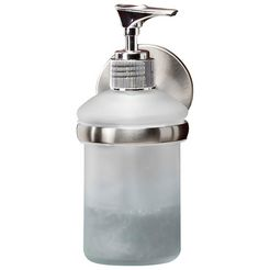 fackelmann zeepdispenser »fusion« zilver