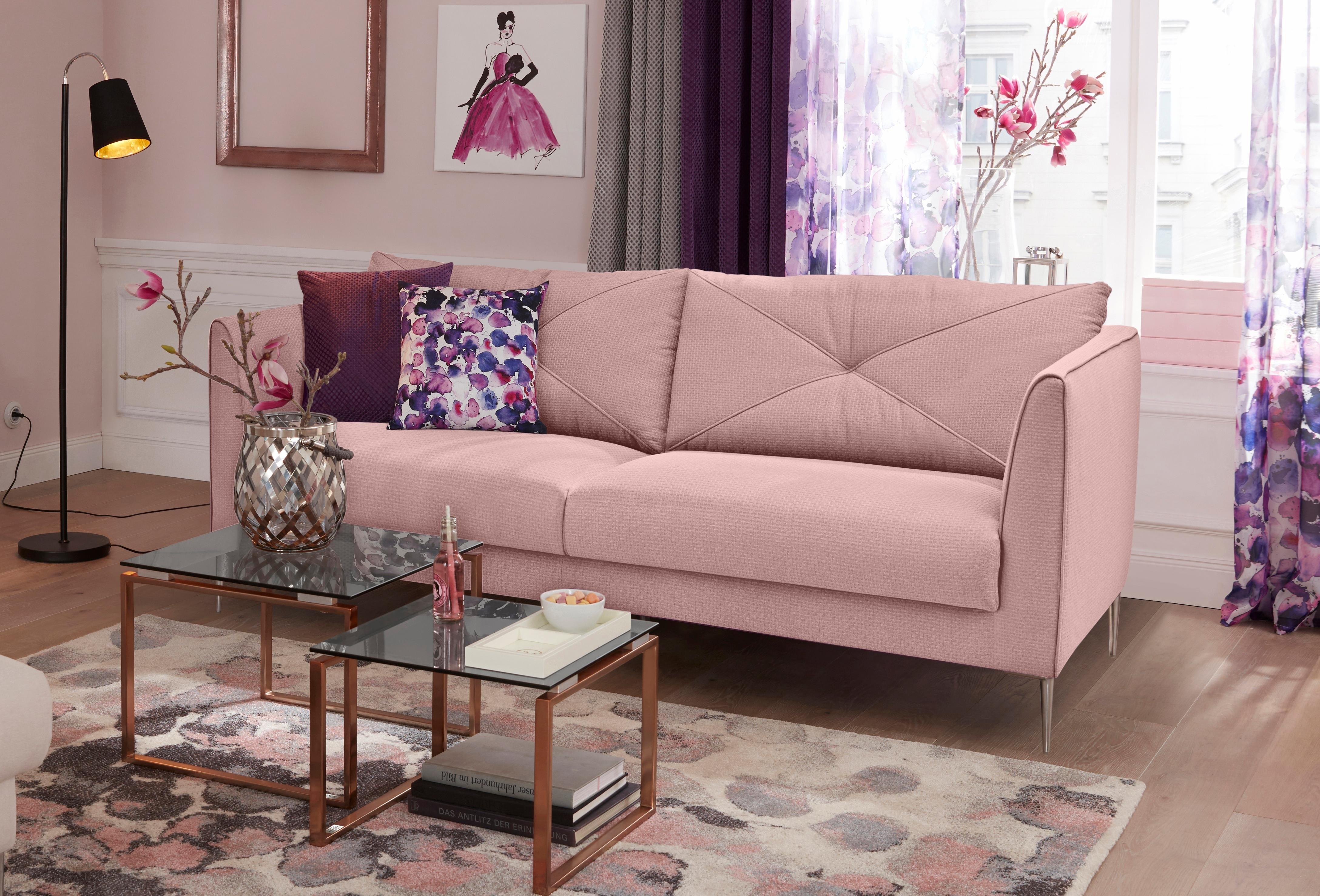 gmk home living 2 zitsbank lille online kopen otto. Black Bedroom Furniture Sets. Home Design Ideas
