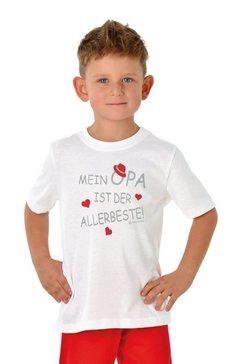 trigema t-shirt opas liebling wit