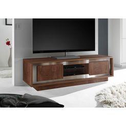 lc »sky« tv-meubel, breedte 156 cm bruin