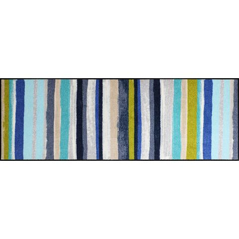 Loper, »Olivias Strepen« SALONLOEWE, rechthoekig, hoogte 6 mm, gedessineerd