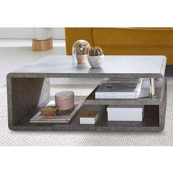 salontafel, met legruimte grijs