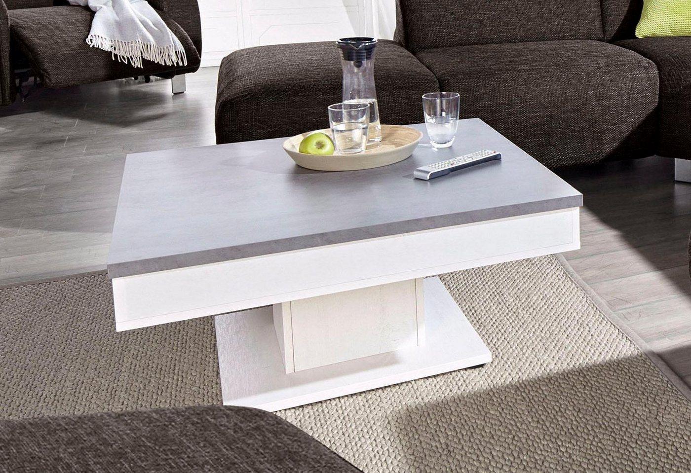 Moderne salontafel, met binnenvak