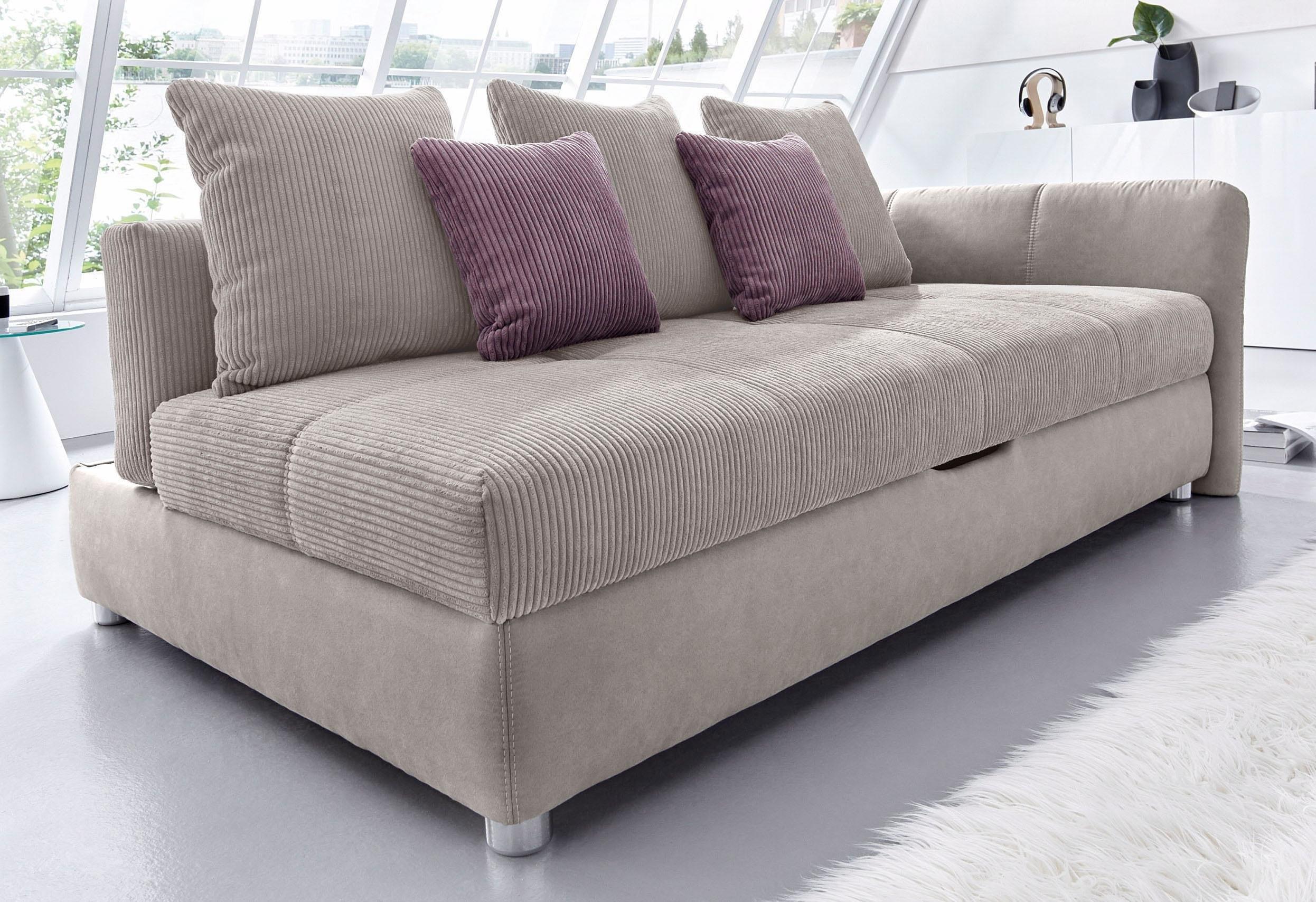 bedbank met verstelbare rugleuning en bedkist bestellen bij otto. Black Bedroom Furniture Sets. Home Design Ideas