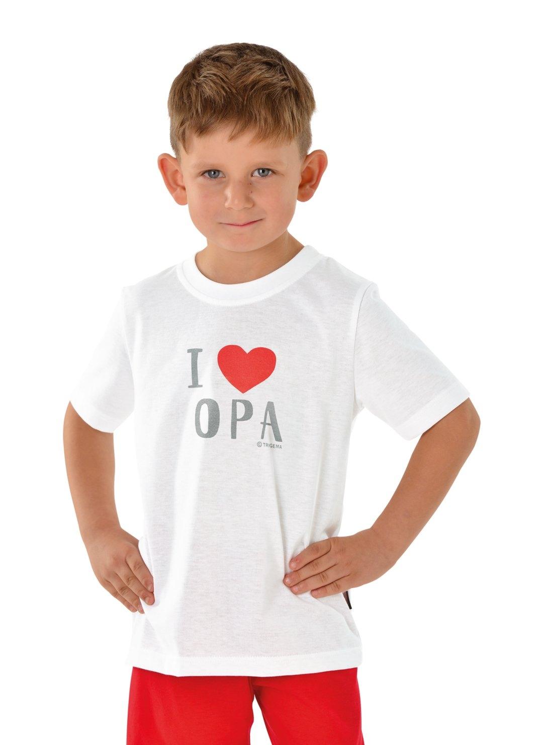 Trigema T-shirt Lievelingsopa - verschillende betaalmethodes