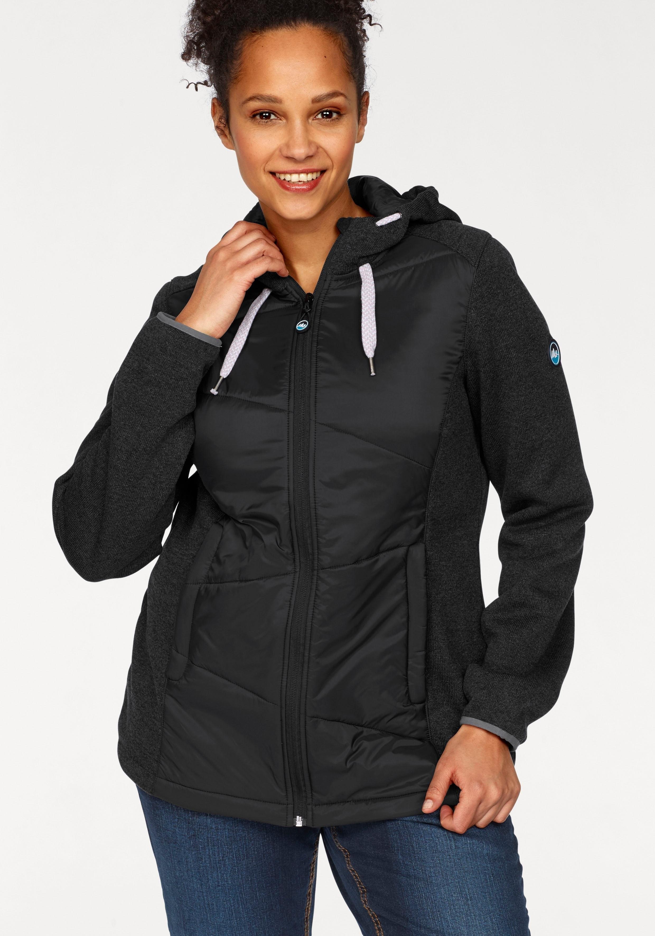 Polarino tricot-fleecejack voordelig en veilig online kopen