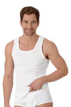 trigema heren onderhemd met schouderbanden wit