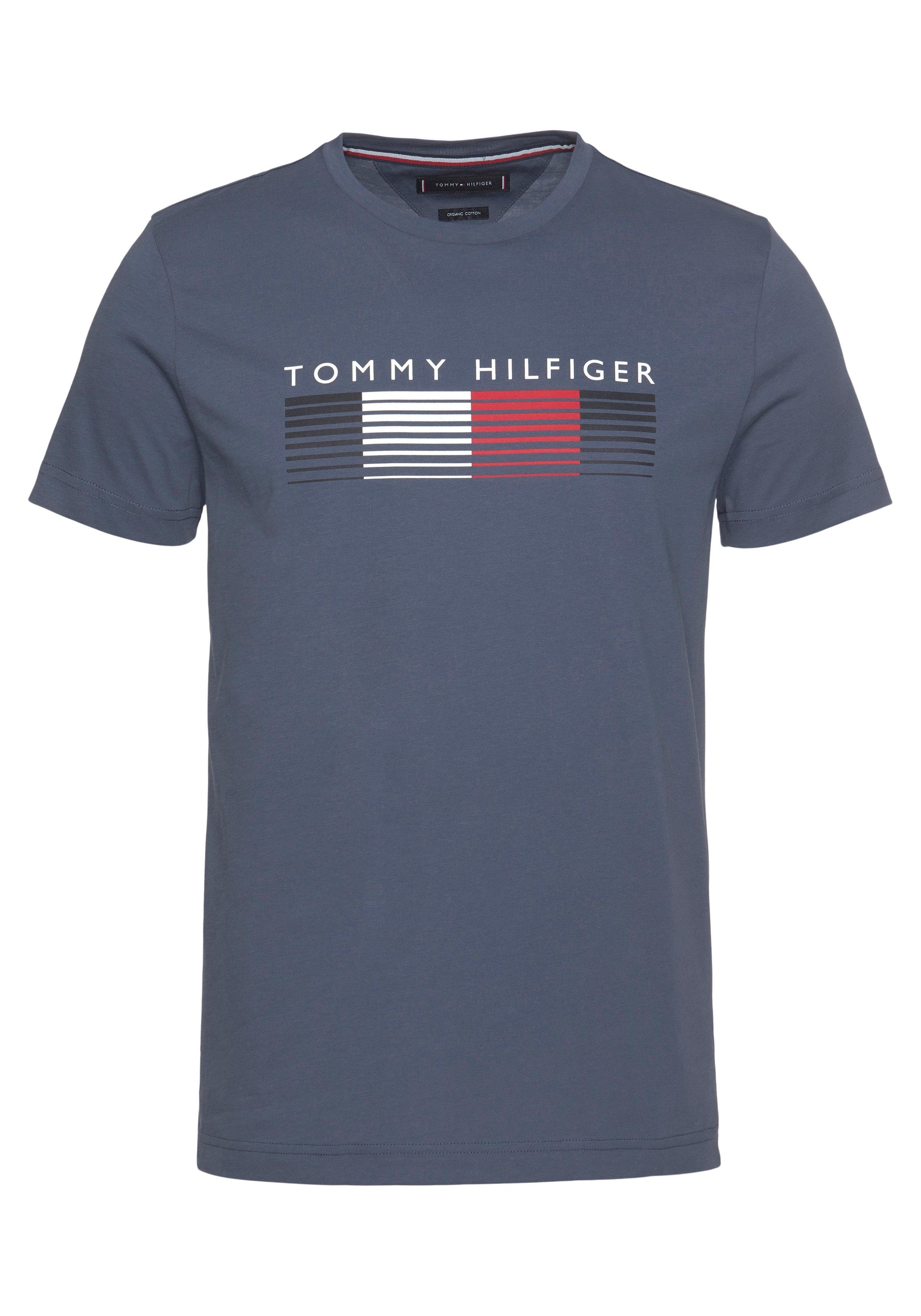 Tommy Hilfiger T-shirt FADE GRAPHIC CORP TEE - verschillende betaalmethodes
