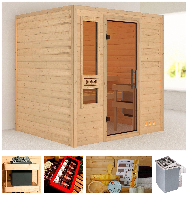 karibu sauna rissani koop je bij otto. Black Bedroom Furniture Sets. Home Design Ideas