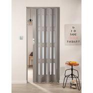 kunststof vouwdeur grijs