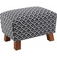 max winzer hocker 'footstool' illusie zwart