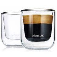 blomus espressoglas nero dubbelwandig (set, 2-delig) wit