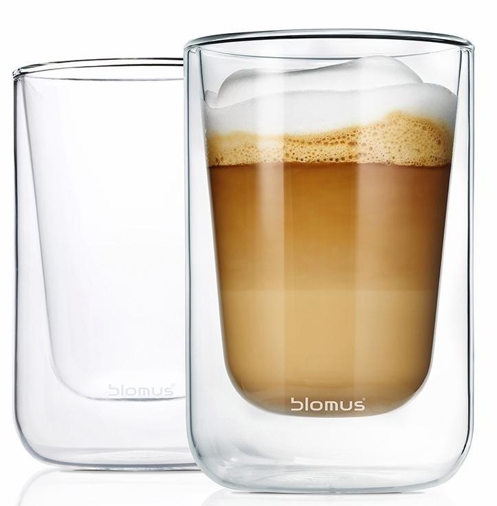 BLOMUS thermoglas Nero Dubbelwandig, inhoud 250 ml, 2-delig (set, 2-delig) voordelig en veilig online kopen