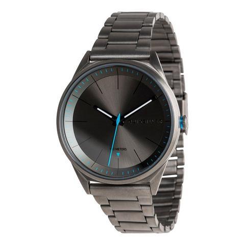 NU 15% KORTING: Quiksilver Analoog horloge Bienville Metal