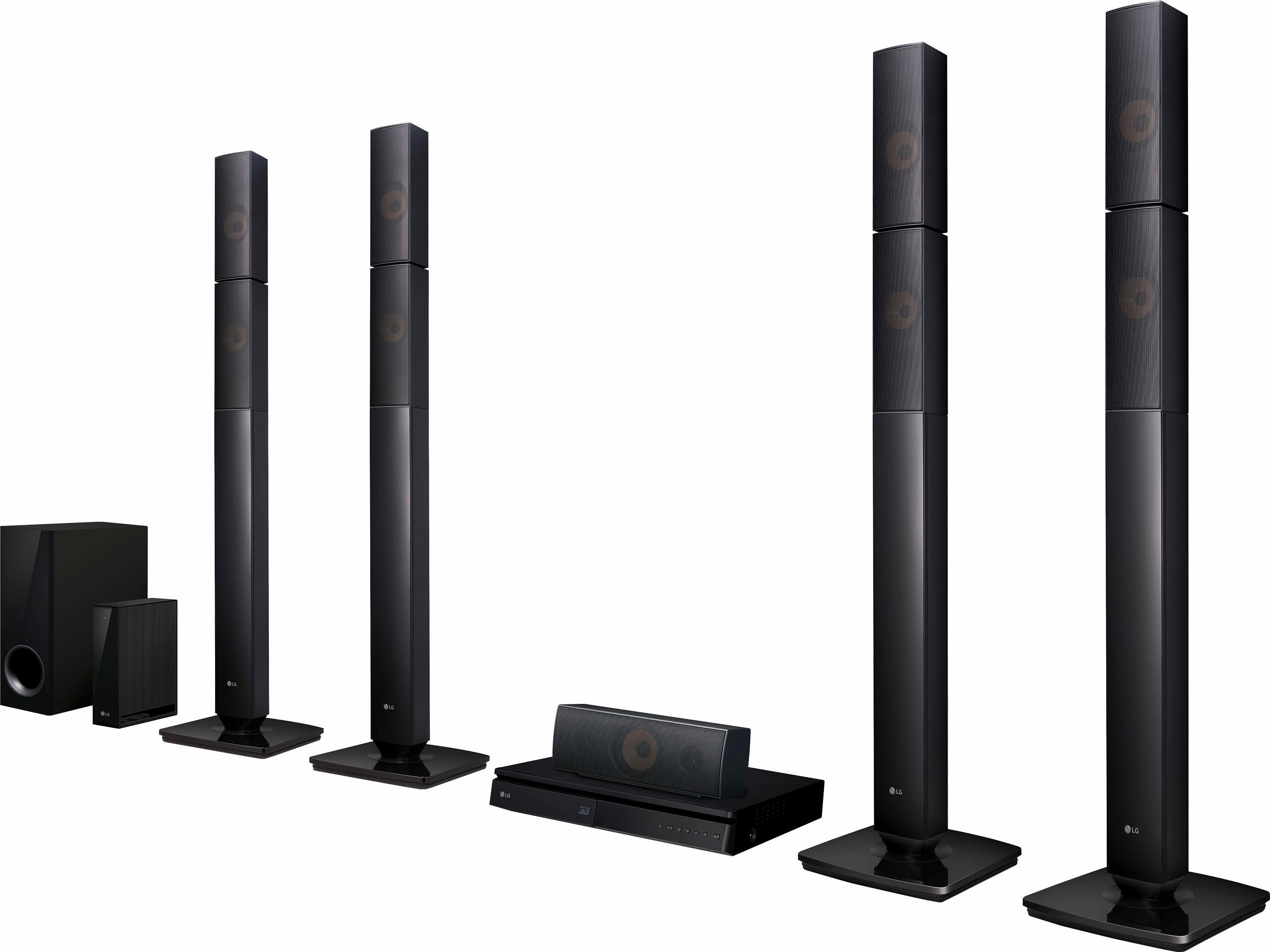LG LHB655NW 5.1-thuisbioscoop (3D-blu-ray-speler, Hi-Res, MultiRoom, 1.000 W, Bluetooth) veilig op otto.nl kopen